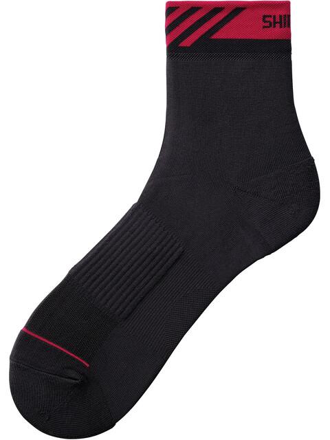 Shimano Breakaway Mid Socks Unisex Black/Red